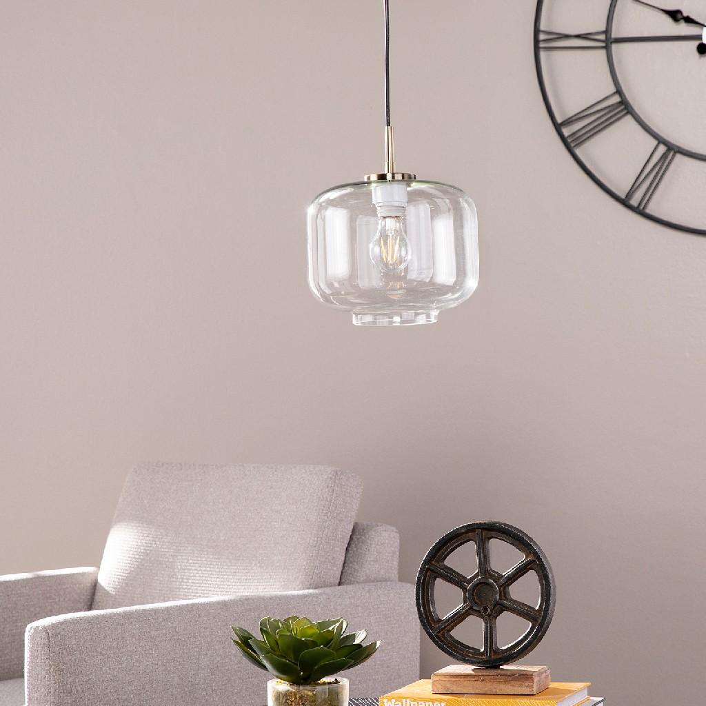 Alandari Glass Pendant Lamp - Southern Enterprises LT8203