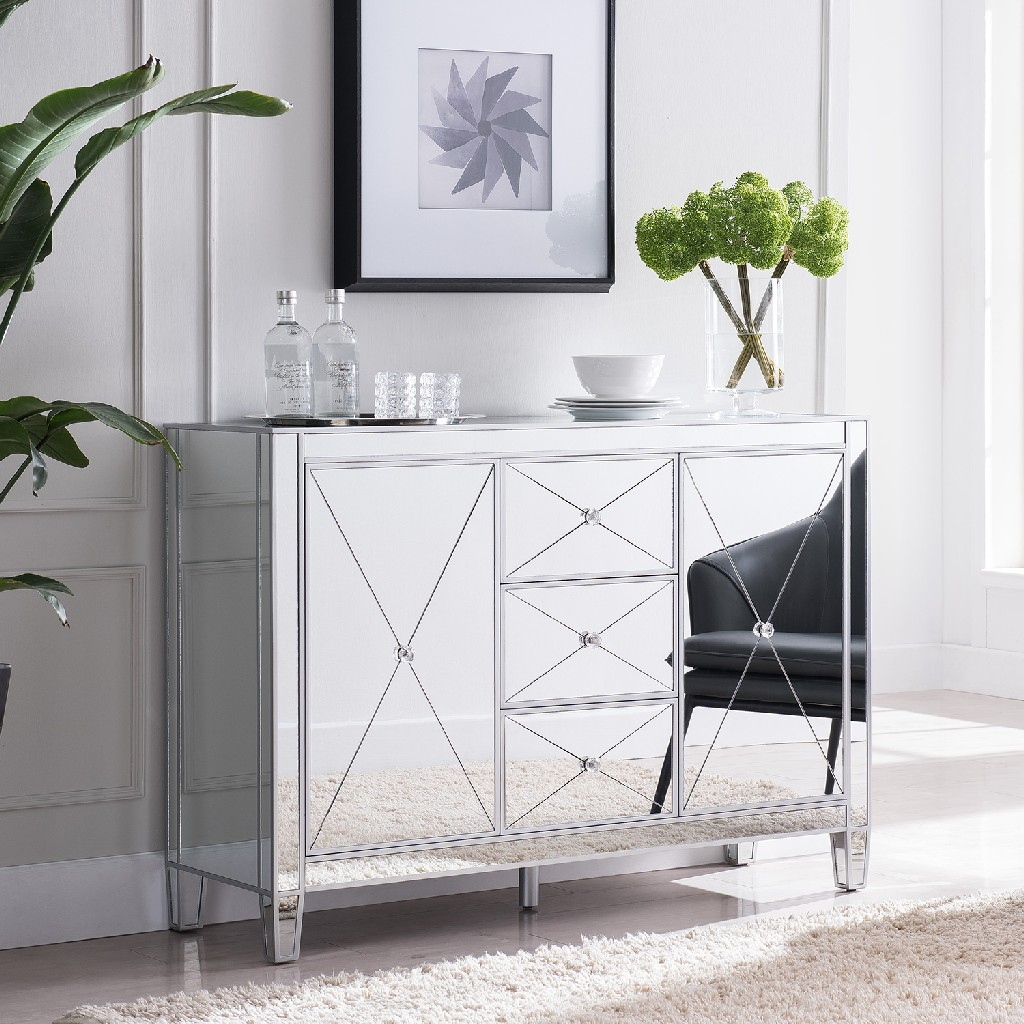 3-Drawer | Southern | Cabinet | Mirror