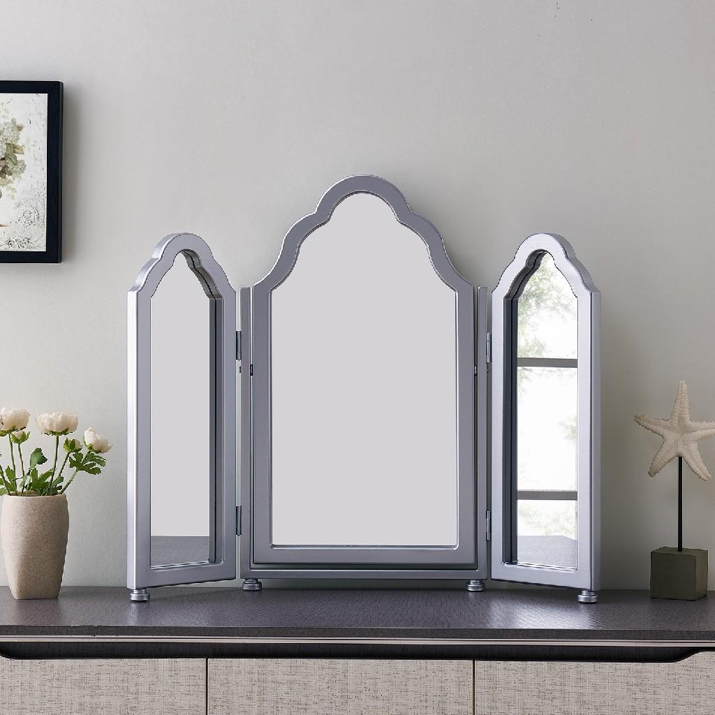 Archlyn Tri-fold Vanity Mirror - Southern Enterprises WS0152