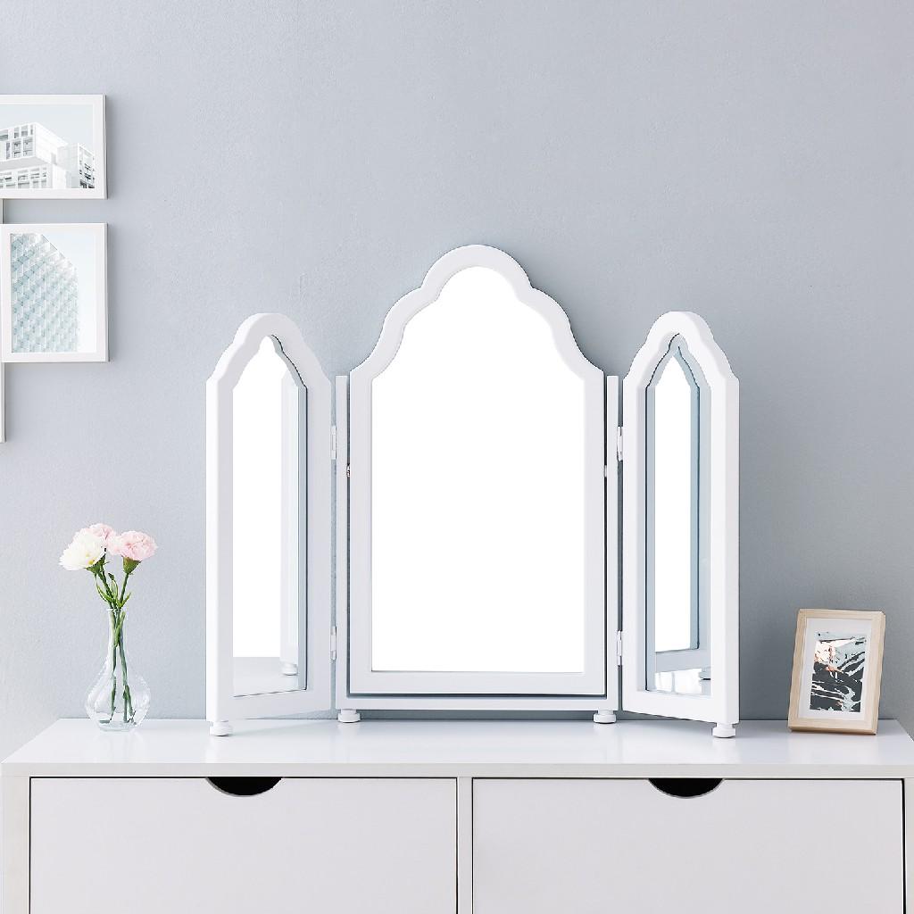 Archlyn Tri-fold Vanity Mirror - Southern Enterprises WS0153