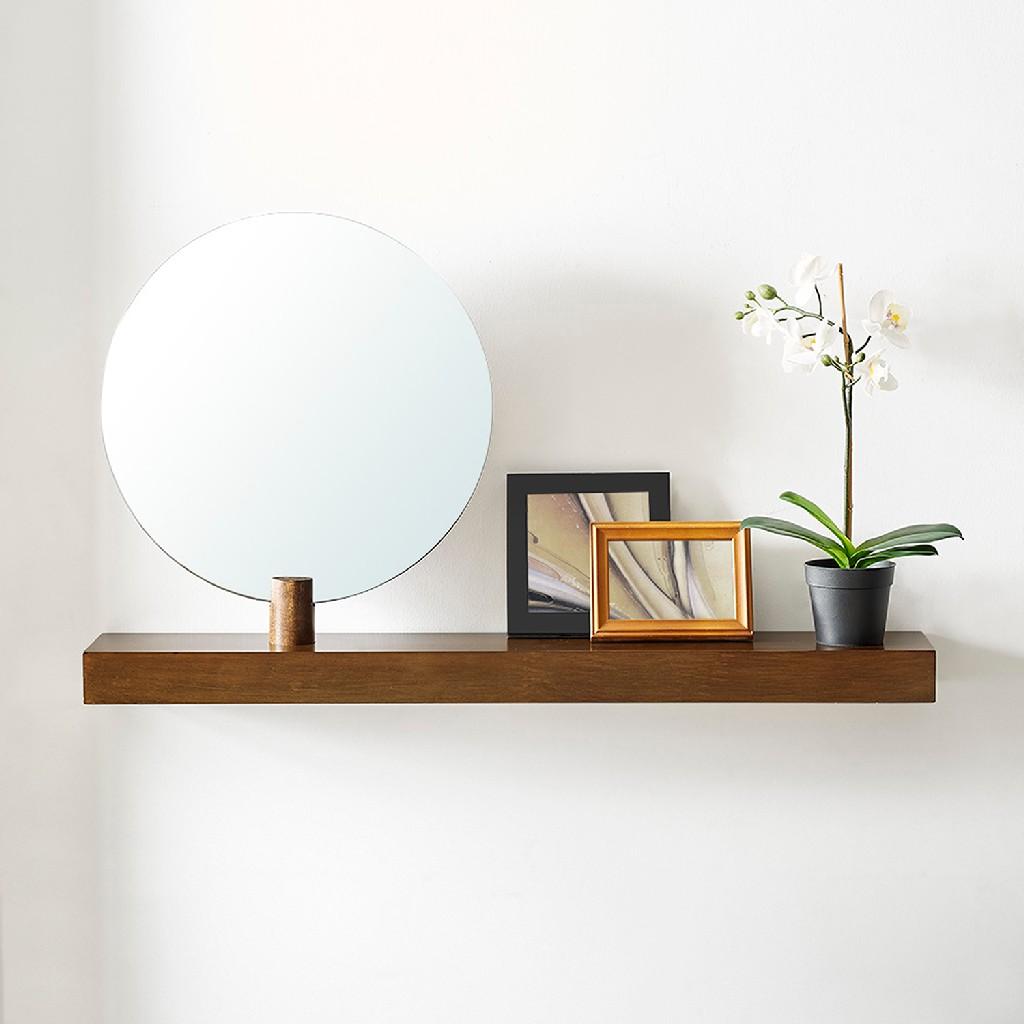 Amivon Wall Mount Mirror & Shelf - Southern Enterprises WS5017