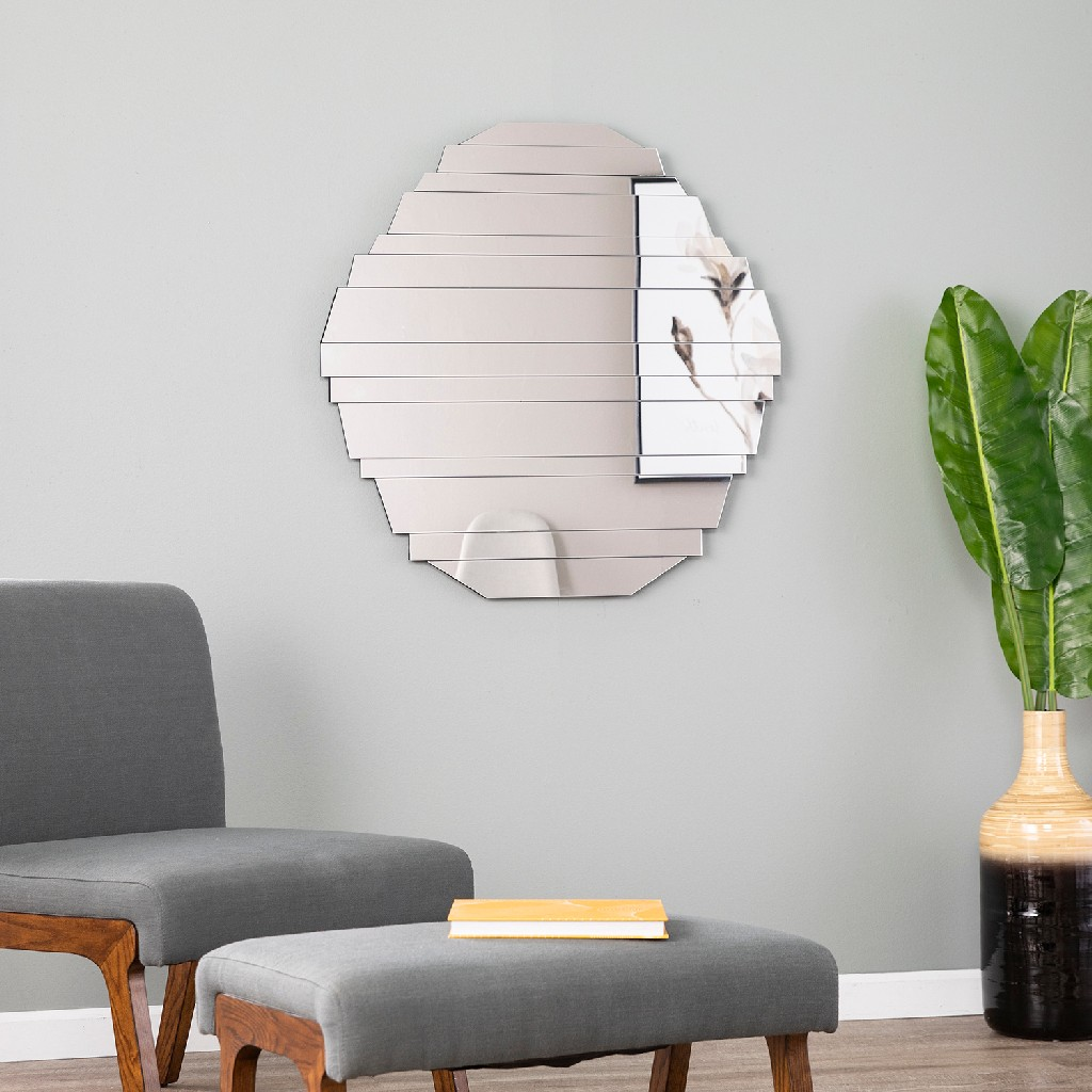 Sliwas Contemporary Hanging Wall Mirror - Holly & Martin WS6025