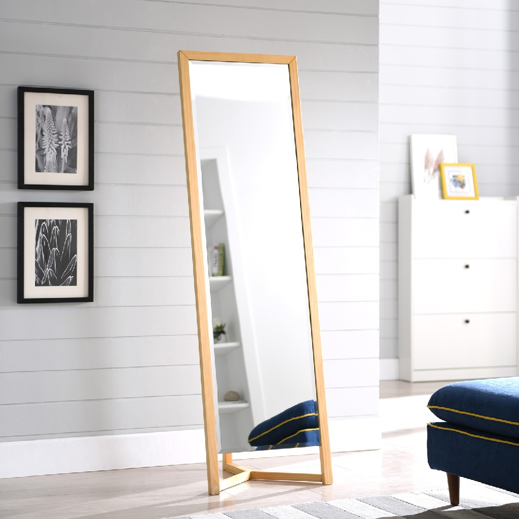 Wolbets Natural Full-Length Dressing Mirror - Holly & Martin WS7847