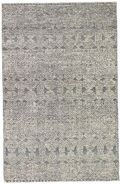 Jaipur Living Abelle Hand-Knotted Medallion Gray/ White Area Rug (8