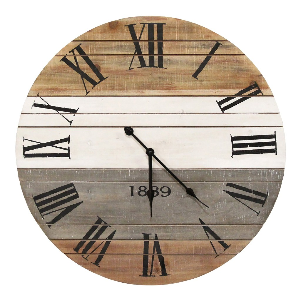 """21"""" Winston Wall Clock - Stratton Home Decor S23725"""