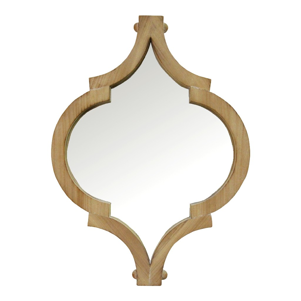 "19"" Amira Wood Wall Mirror - Stratton Home Decor S23728"