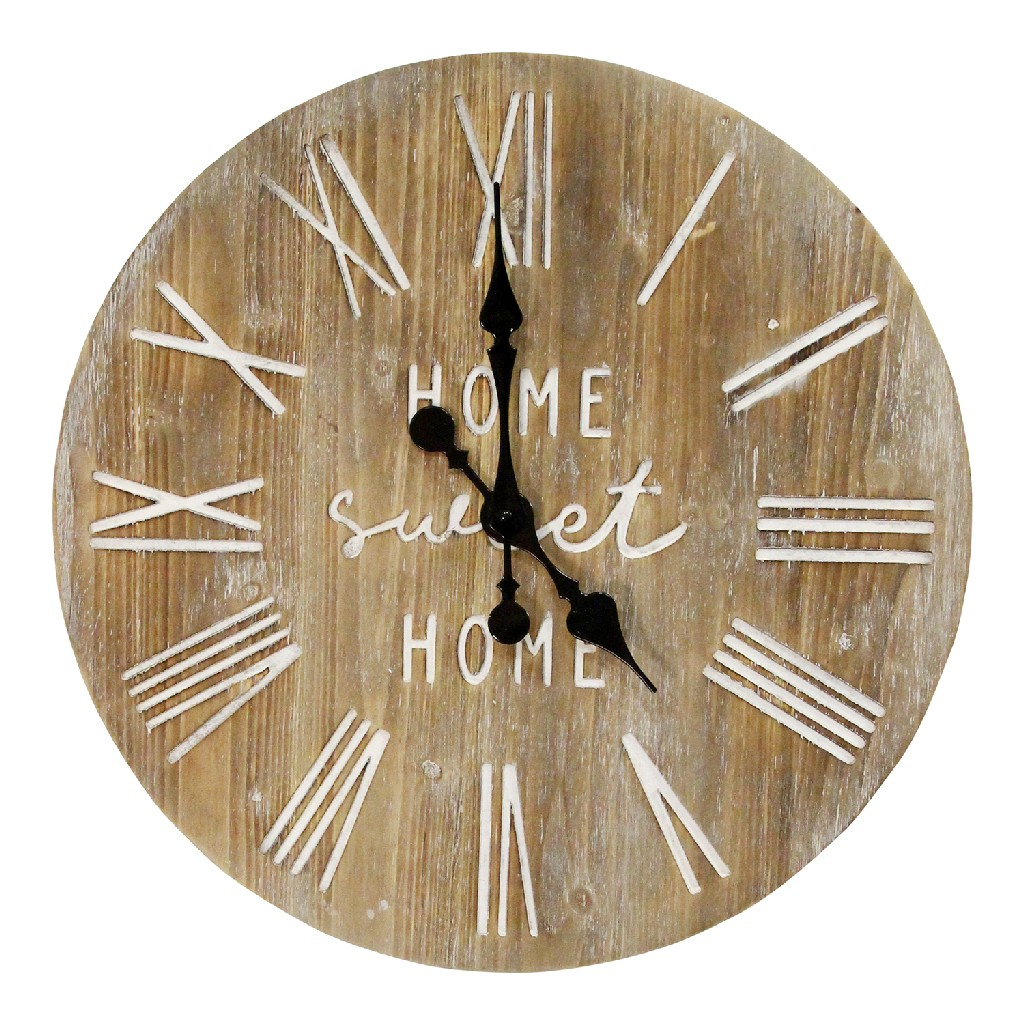"23"" Wood Dale Wall Clock - Stratton Home Decor S23764"