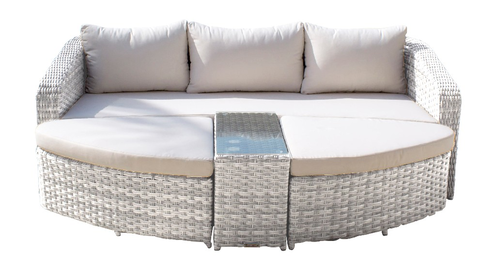 Athens 4 PC Daybed Set with Cushions