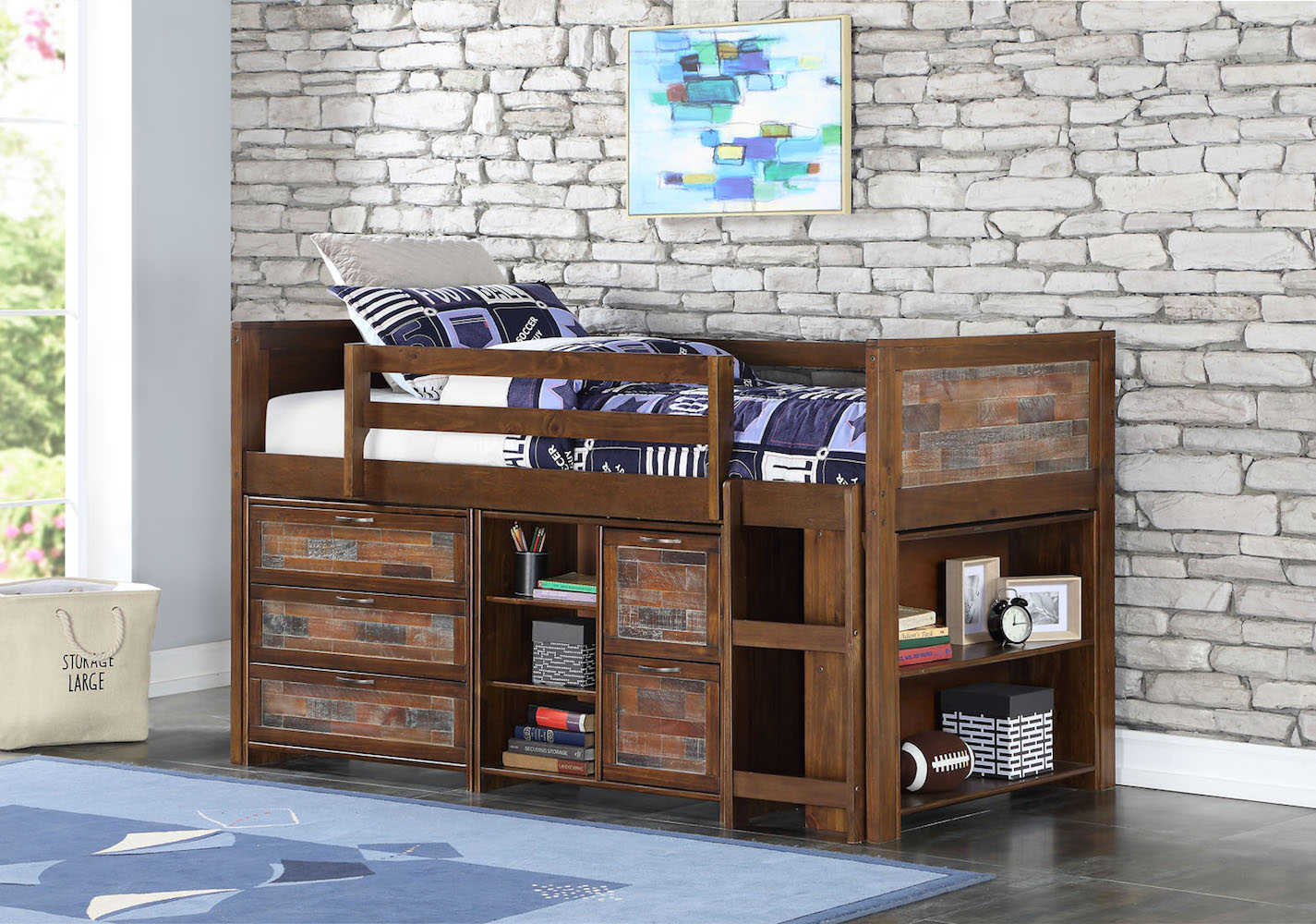 Donco Kids Furniture Twin Low Combo Photo