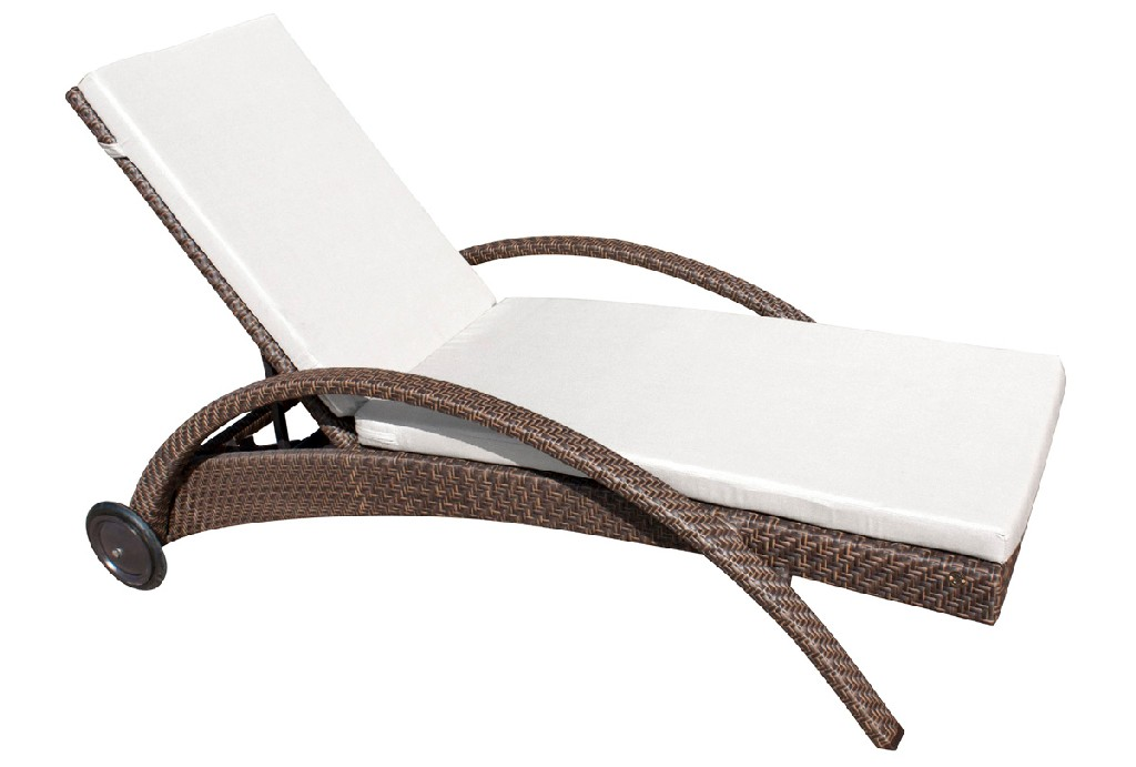 Hospitality Rattan Patio Furniture Patio Chaise Lounge Photo