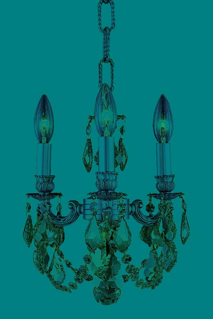 Elegant Lighting Lillie Light Pendant Golden Teak Smoky Elements Crystal
