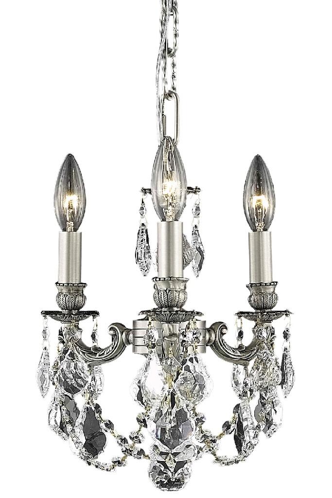 Elegant Lighting Lillie Light Pendant Clear Elements Crystal