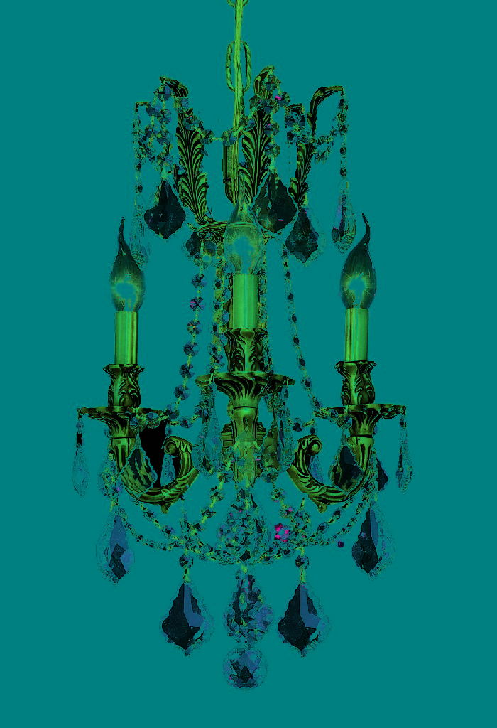 Elegant Lighting Light French Gold Pendant Clear Elegant Cut Crystal