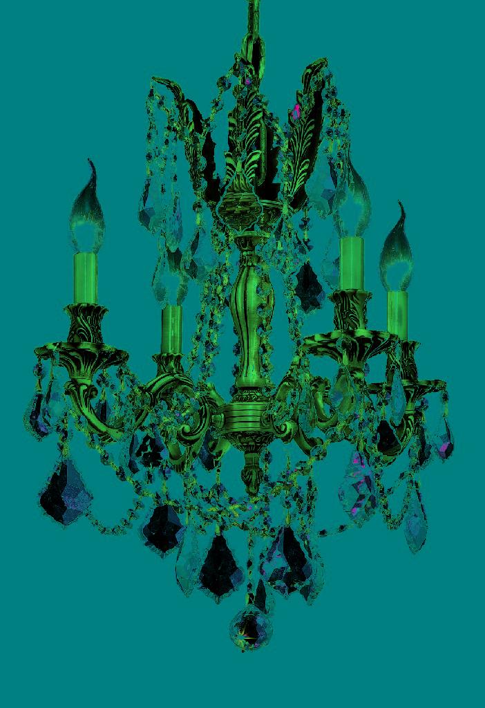 Elegant Lighting Light French Gold Pendant Clear Spectra' Swarovski' Crystal