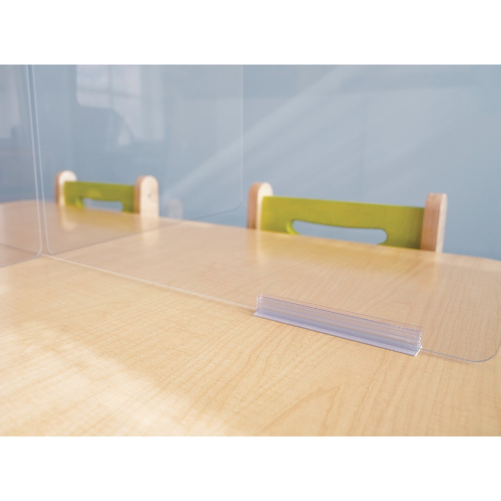 Acrylic Partition Feet - Whitney Brothers WB0547