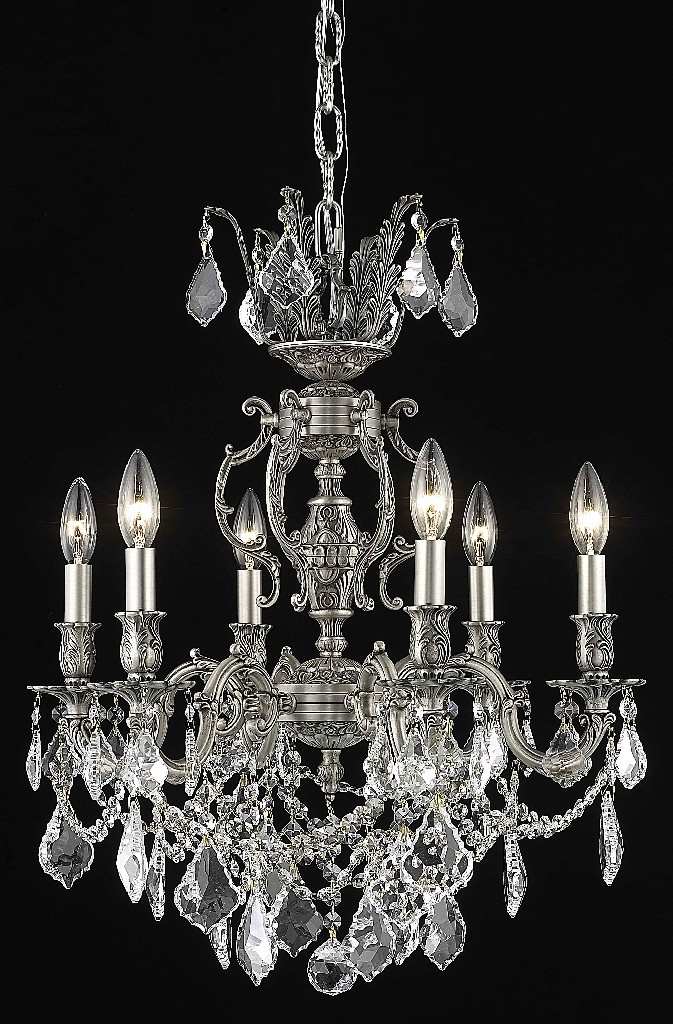Elegant Lighting Light Chandelier Clear Elegant Cut Crystal
