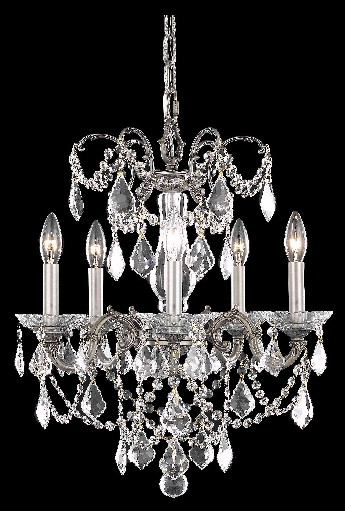 Elegant Lighting Light Pendant Clear Royal Cut Crystal