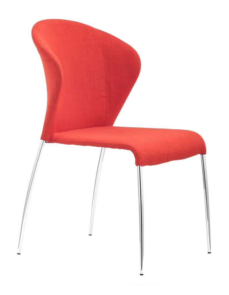 Zuo Modern Oulu Dining Chair Tangerine