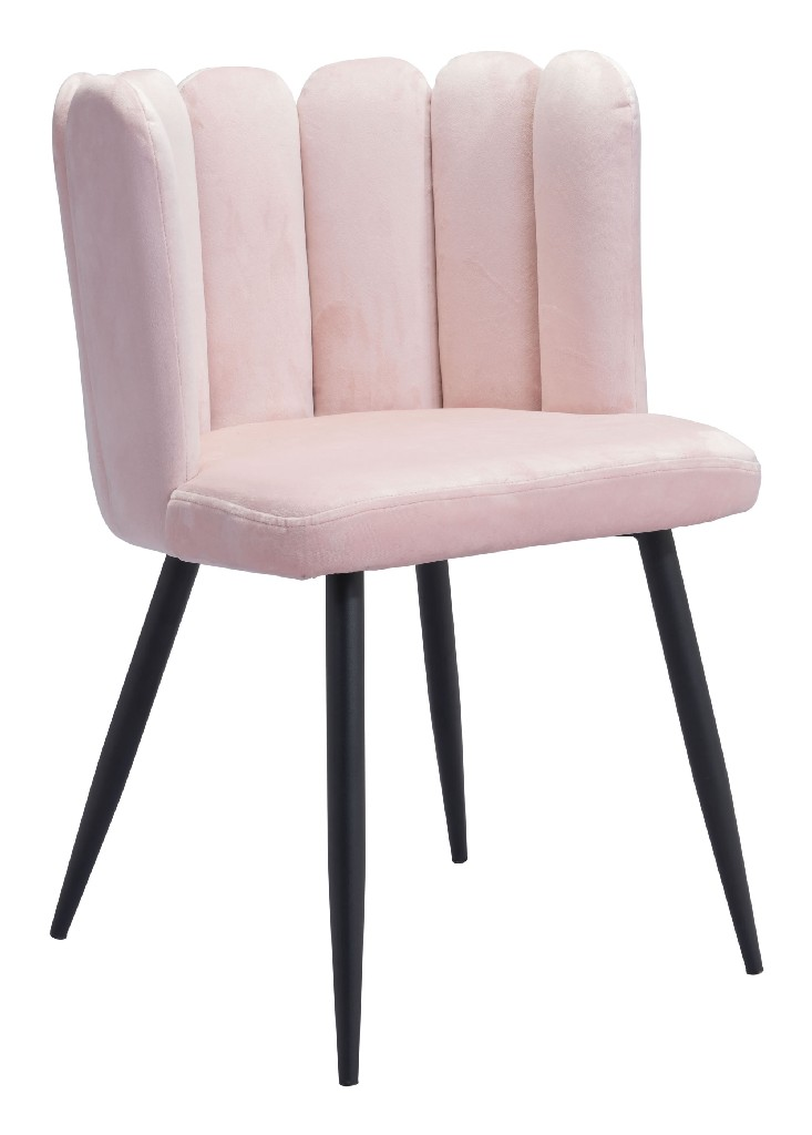 Adele Chair Pink (Set of 2) - Zuo 101523