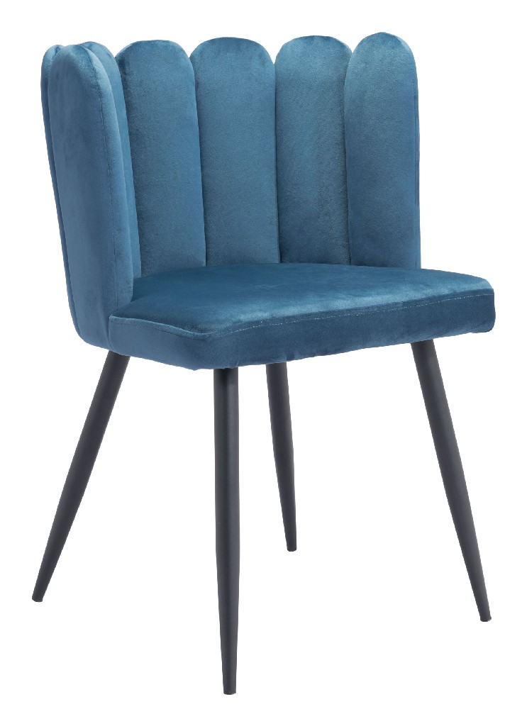 Adele Chair Blue (Set of 2) - Zuo 101525