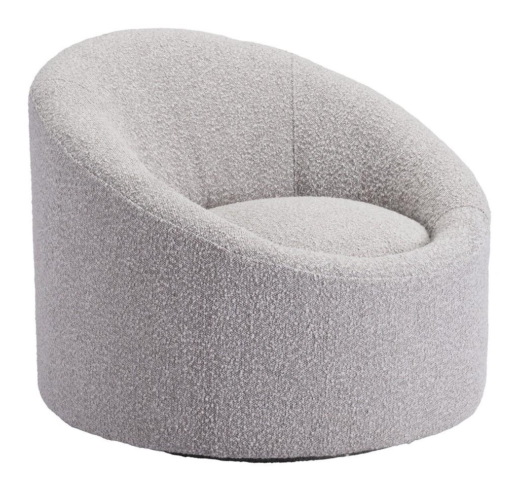 Zuo Modern Accent Chair Gray