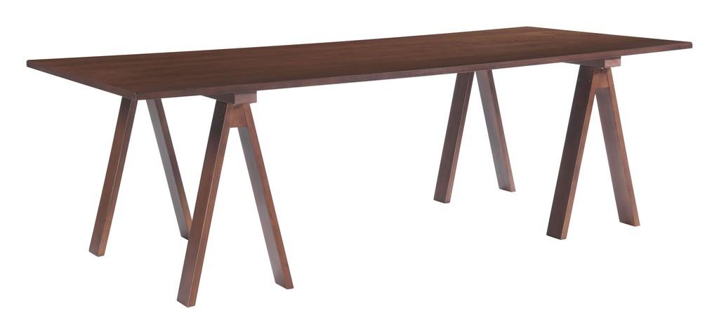 Zuo Modern Amorium Dining Table Walnut