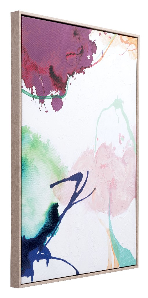 Abstract Party Canvas Multicolor - Zuo A12199