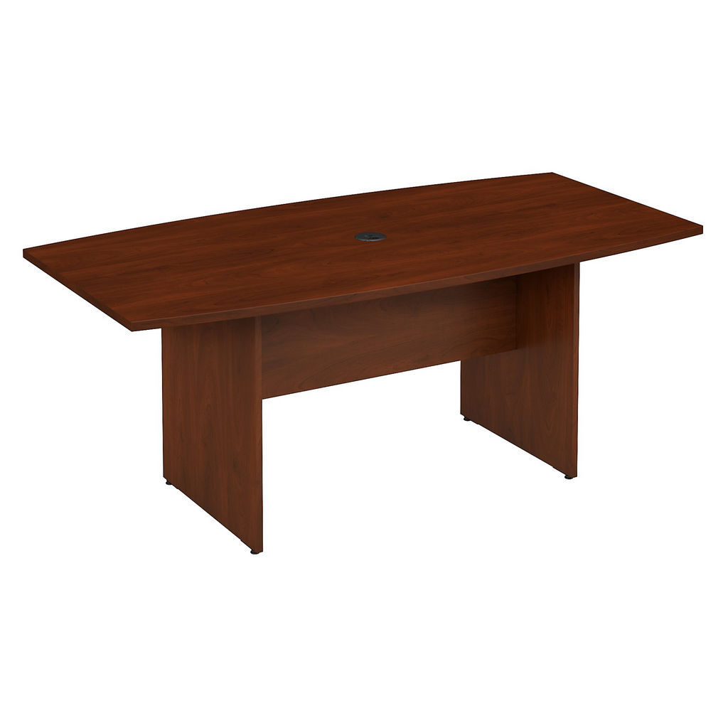 Bush Business Furniture 99TB7236HC - Series C 72L x 36W Boat Top Conference Table in Hansen Cherry