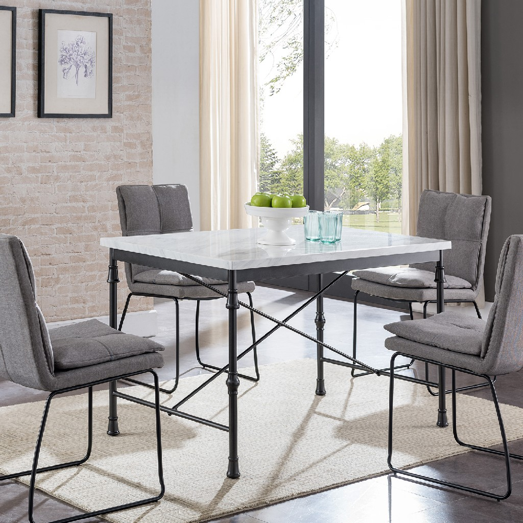 Asa Faux Marble Dining Table - Southern Enterprises DN4697
