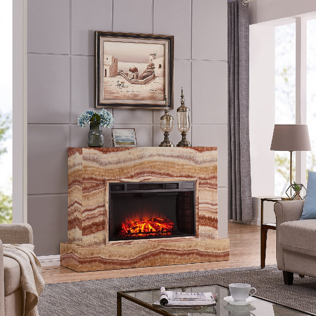 Southern Enterprise Torvelle Electric Fireplace Tv Stand