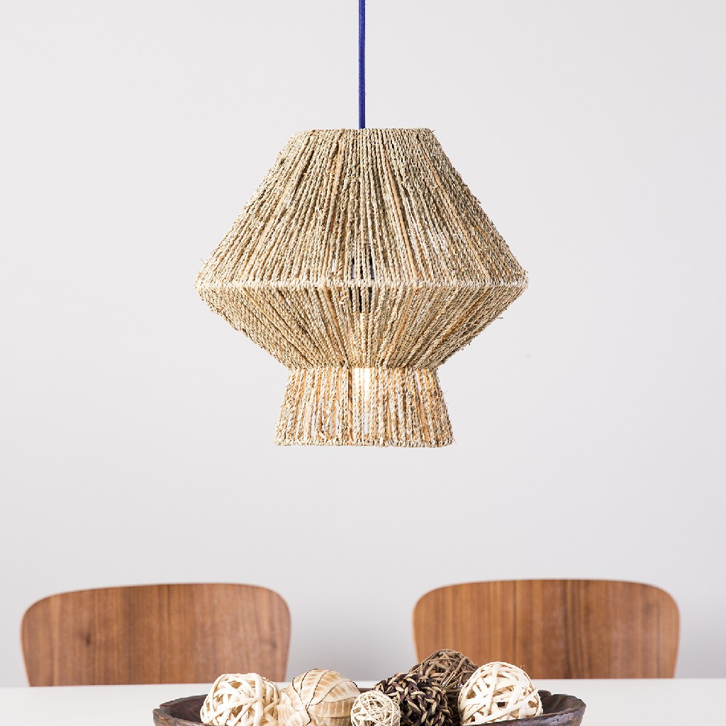 Lotte Seagrass Pendant Shade - Holly & Martin LT1011