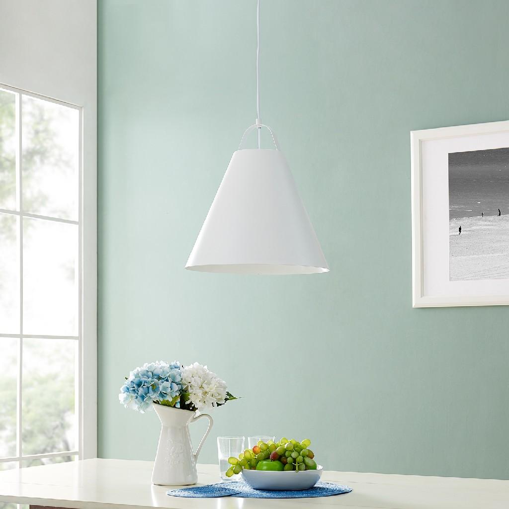 Avalos White Pendant Lamp - Southern Enterprises LT8212