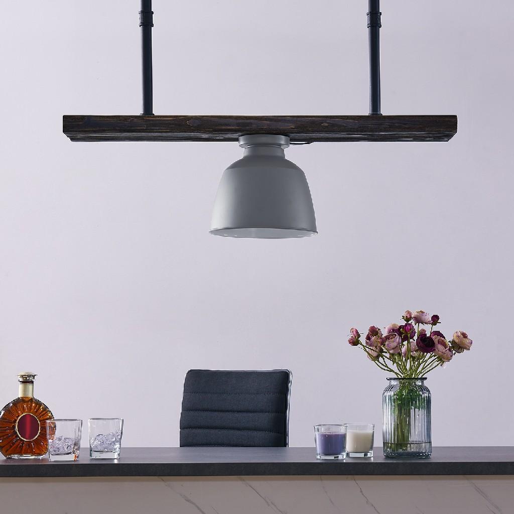 Averni Flush-Mount Pendant Lamp - Southern Enterprises LT8296