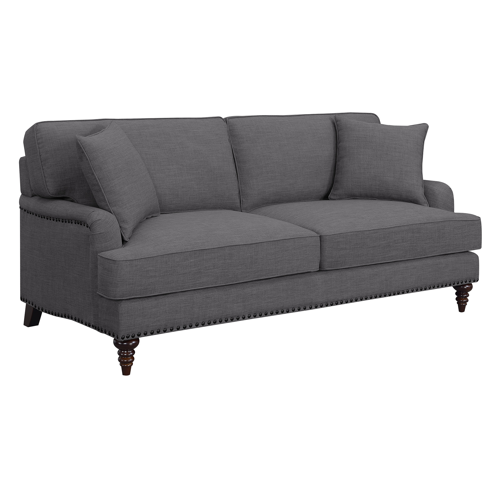 Picket House Sofa Charcoal