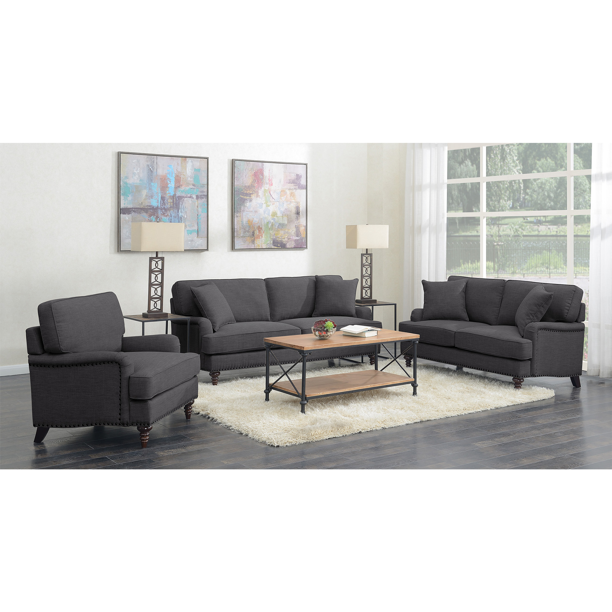 Picket House Living Room Set Sofa Loveseat Chair