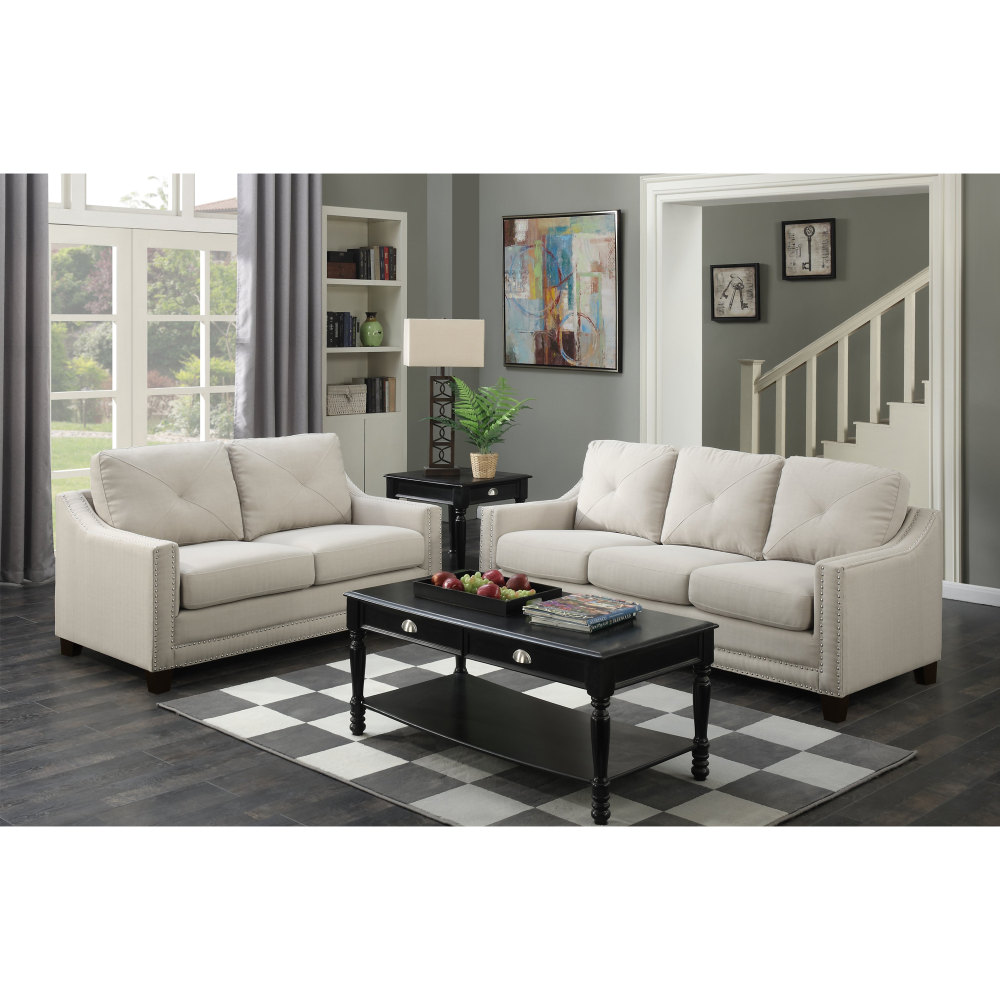 Picket House Sofa Loveseat