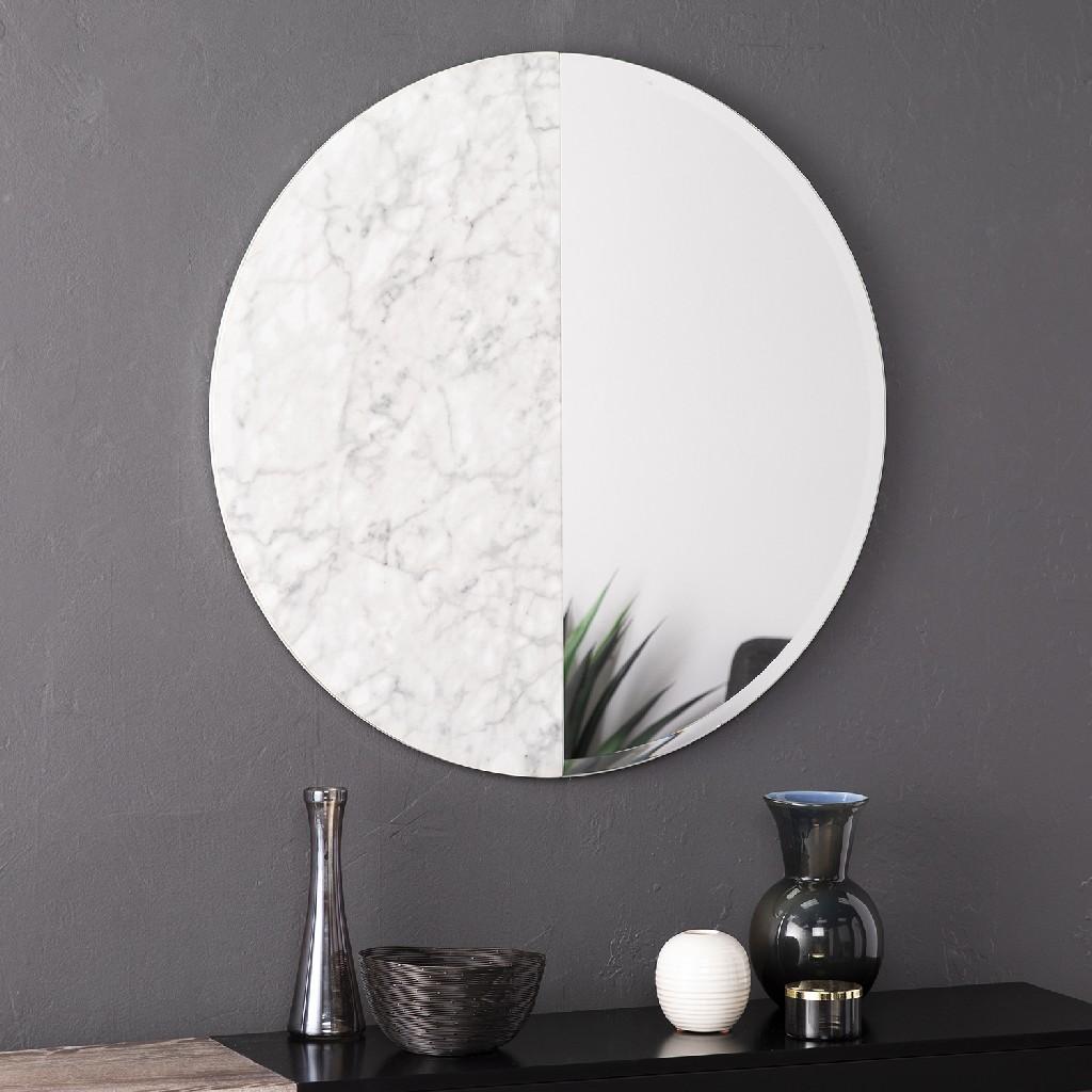 Bowers Round Decorative Wall Mirror - Holly & Martin WS2332