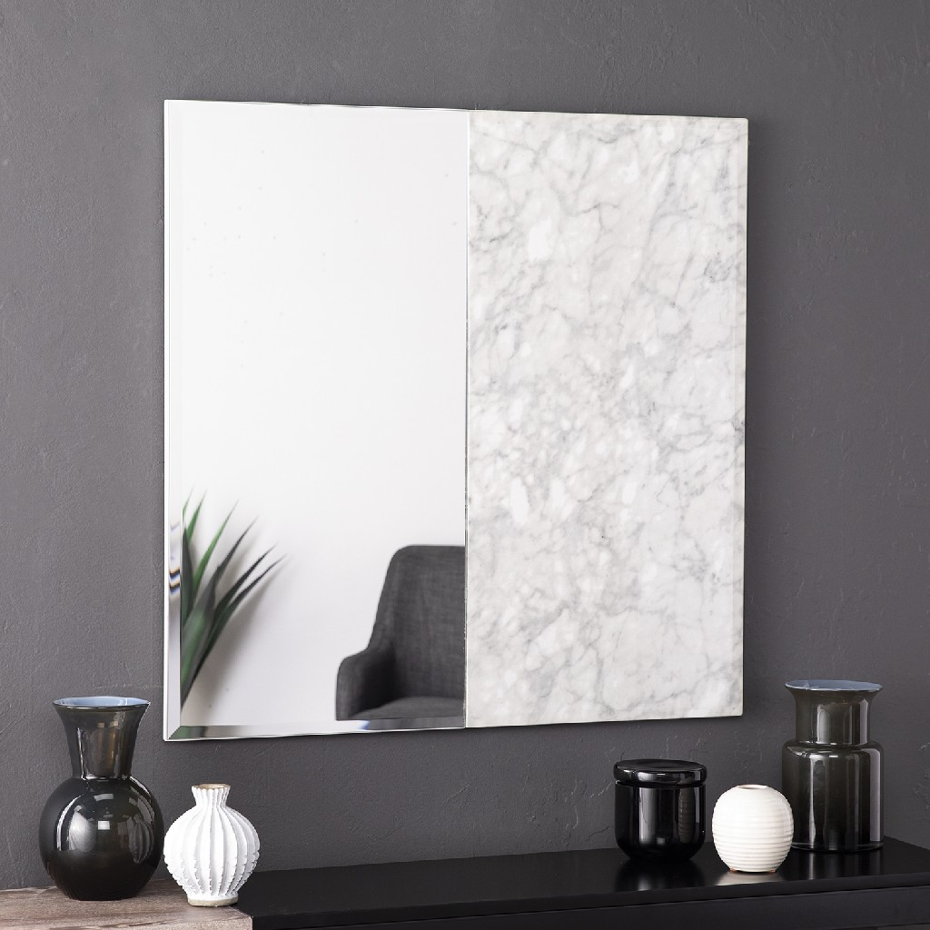 Bowers Square Decorative Wall Mirror - Holly & Martin WS2336