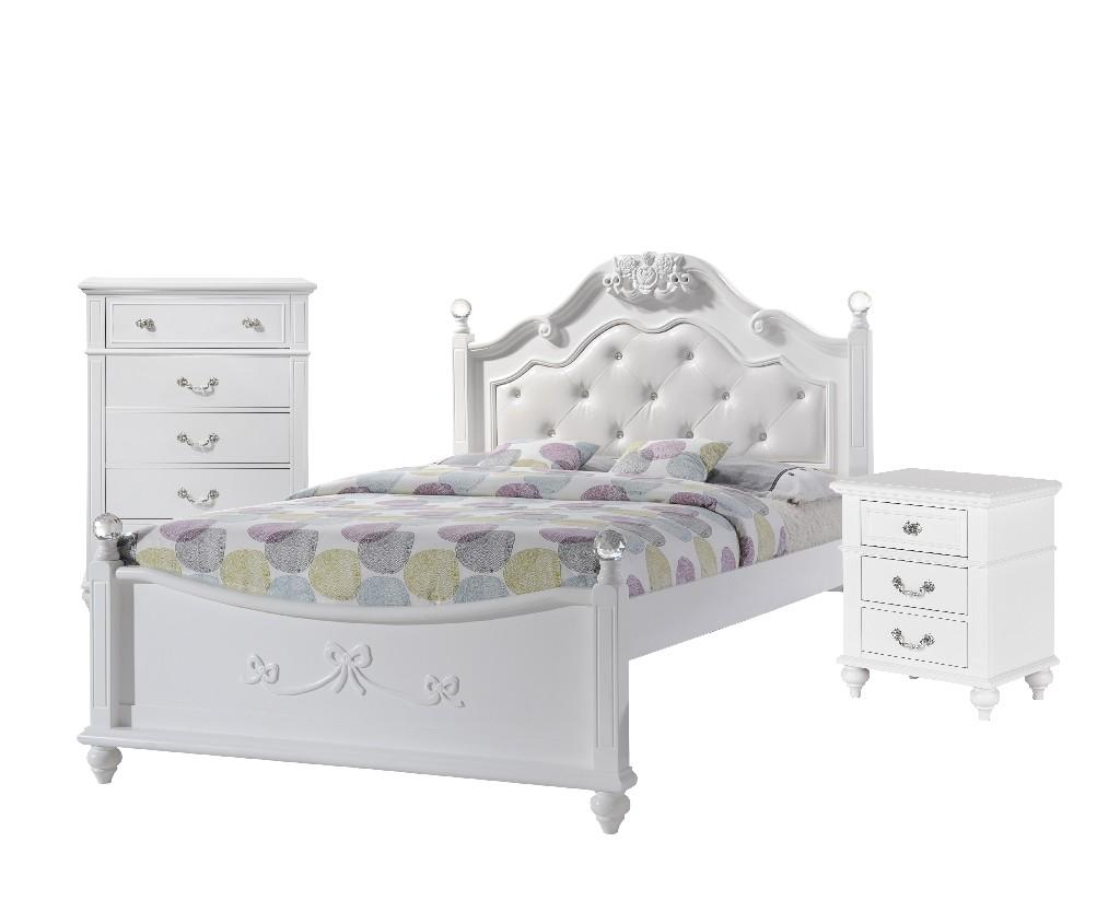 Picket House Annie Full Platform Bedroom Set Storage Trundle