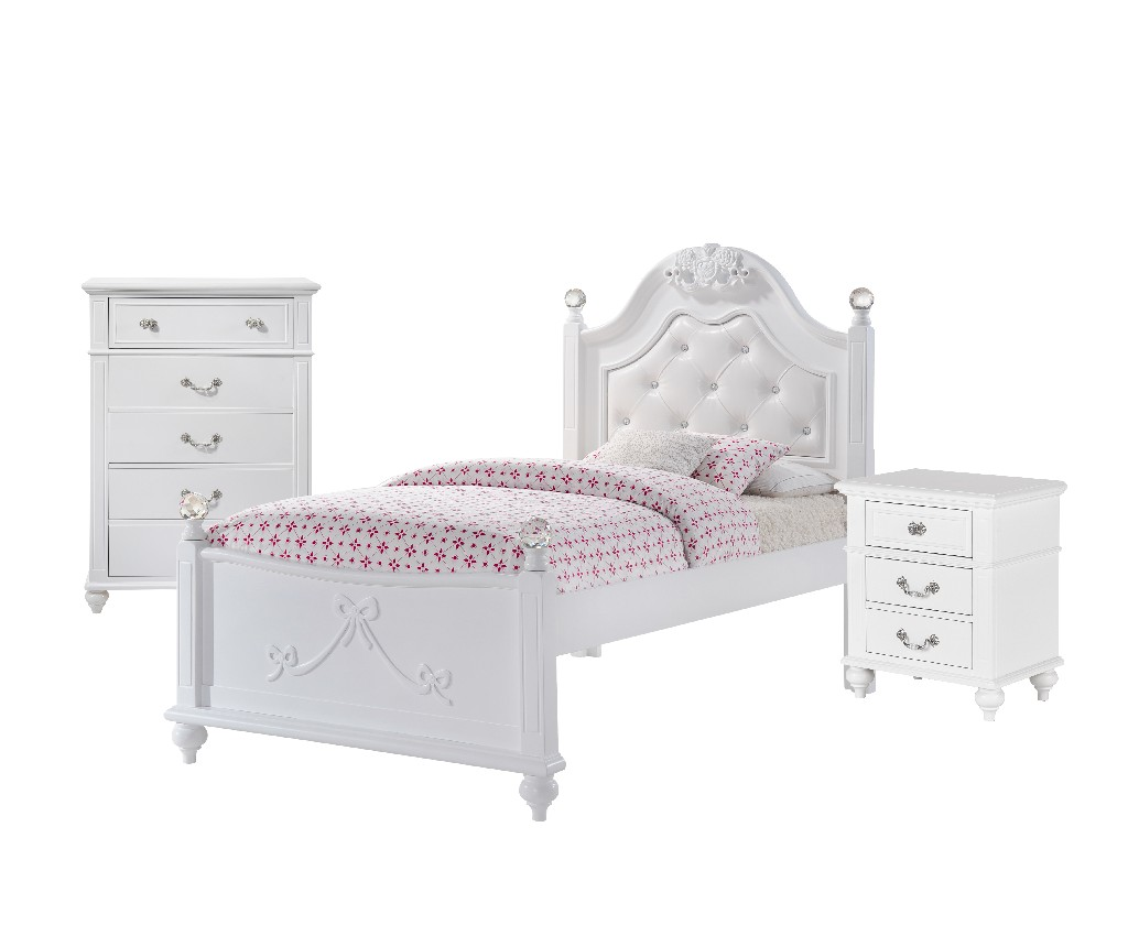 Picket House Twin Platform Bedroom Set Storage Trundle