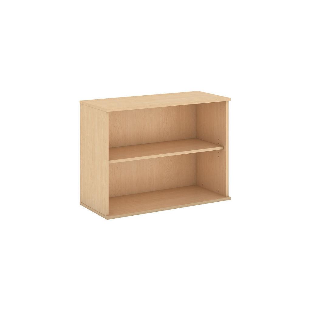 Bush Business Furniture 30H 2 Shelf Bookcase in Natural Maple - BK3036AC
