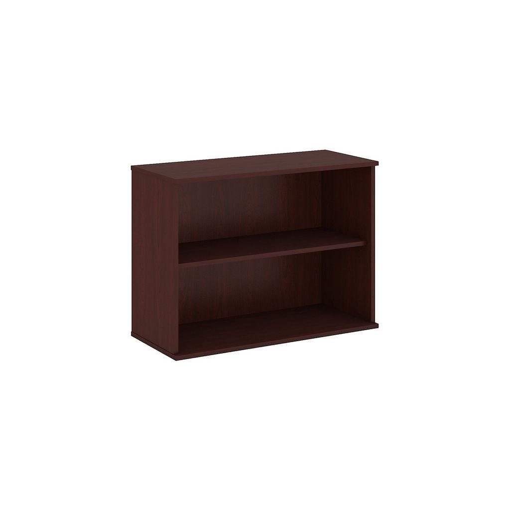 Bush Business Furniture 30H 2 Shelf Bookcase in Harvest Cherry - BK3036CS
