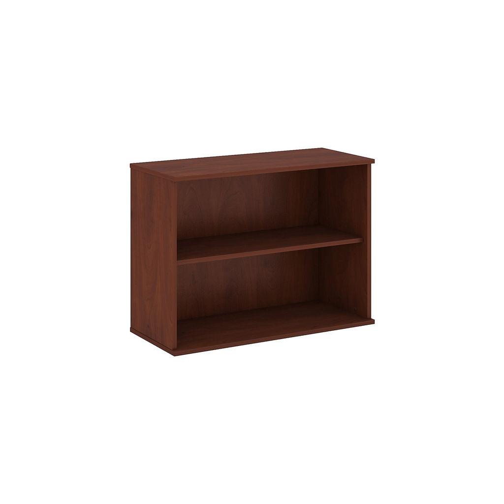 Bush Business Furniture 30H 2 Shelf Bookcase in Hansen Cherry - BK3036HC