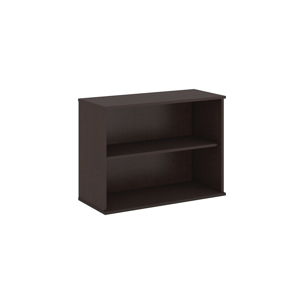 Bush Business Furniture 30H 2 Shelf Bookcase in Mocha Cherry - BK3036MR