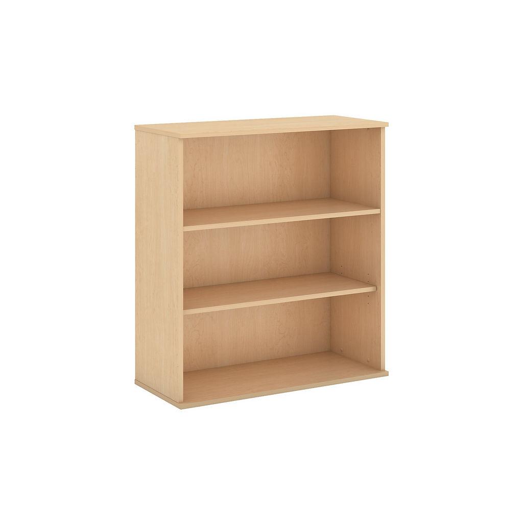Bush Business Furniture 48H 3 Shelf Bookcase in Natural Maple - BK4836AC