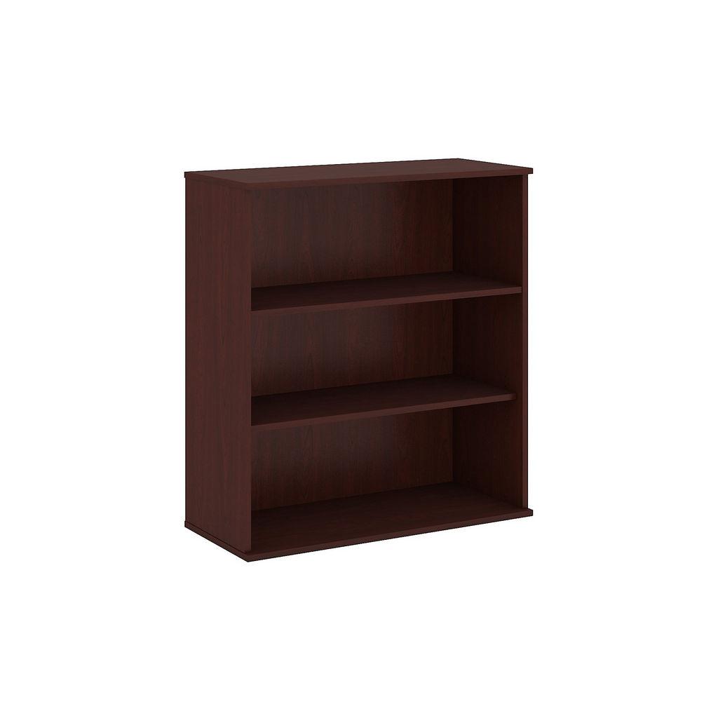 Bush Business Furniture 48H 3 Shelf Bookcase in Harvest Cherry - BK4836CS