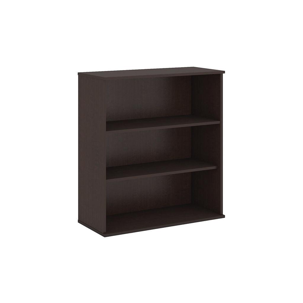 Bush Business Furniture 48H 3 Shelf Bookcase in Mocha Cherry - BK4836MR