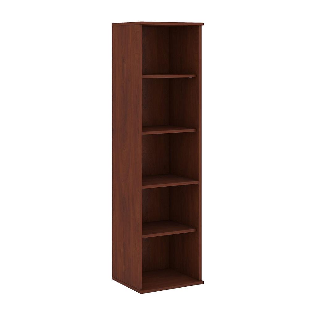 Bush Business Furniture 66H 5 Shelf Narrow Bookcase in Hansen Cherry - BK6618HC