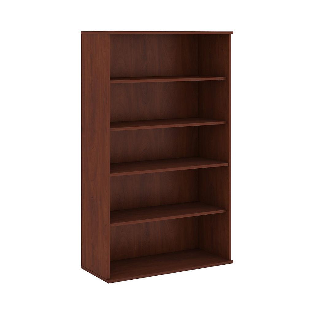 Bush Business Furniture 66H 5 Shelf Bookcase in Hansen Cherry - BK6636HC