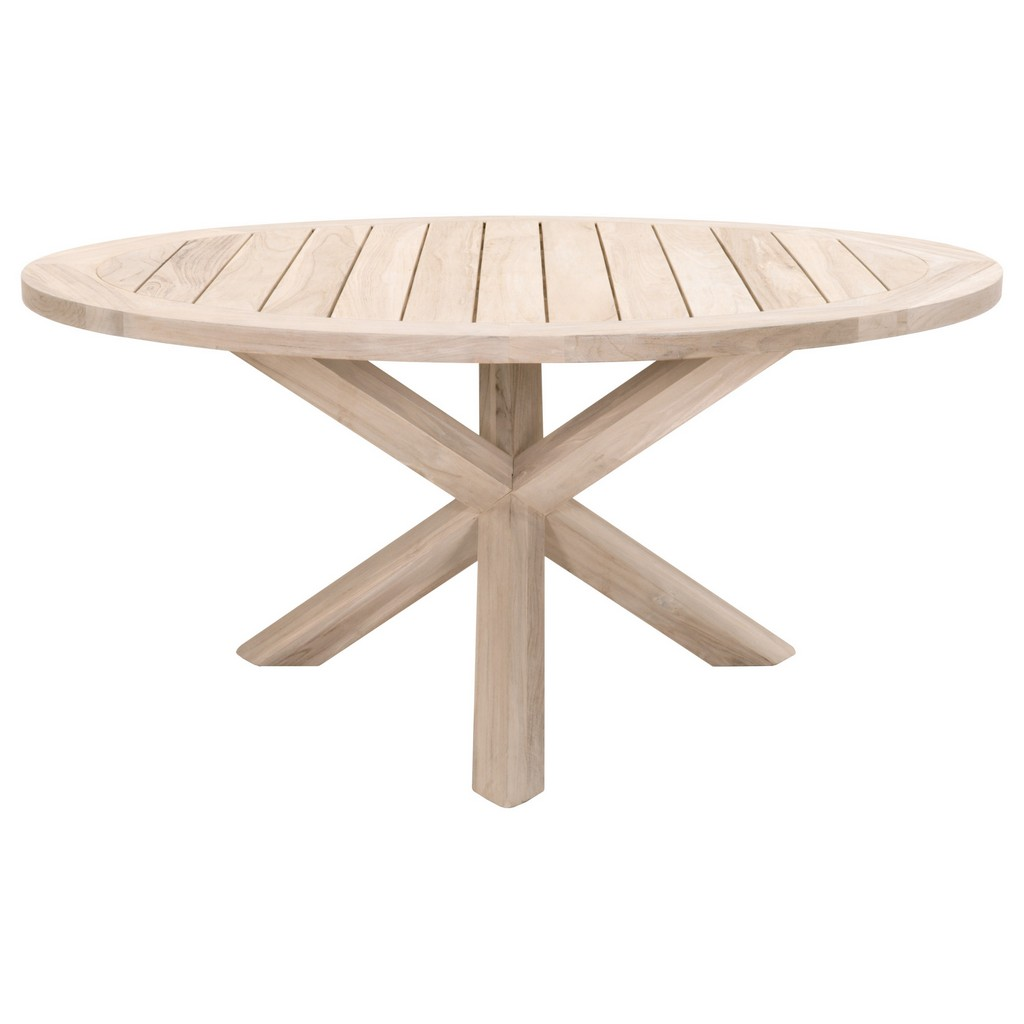 Woven Boca Outdoor Round Dining Table
